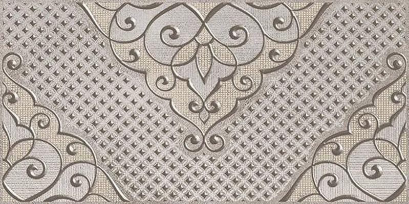 Керамический декор Ceramica Classic Versus Chic серый 08-03-06-1335 20х40 см стеклянная вставка ceramica classic мармара пальмира комплект серый 3шт компл 5 5х16 5 см