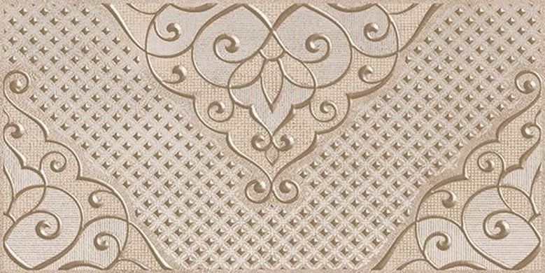 Керамический декор Ceramica Classic Versus Chic коричневый 08-03-15-1335 20х40 см керамический бордюр ceramica classic versus chic розовый 46 03 41 1335 4х40 см
