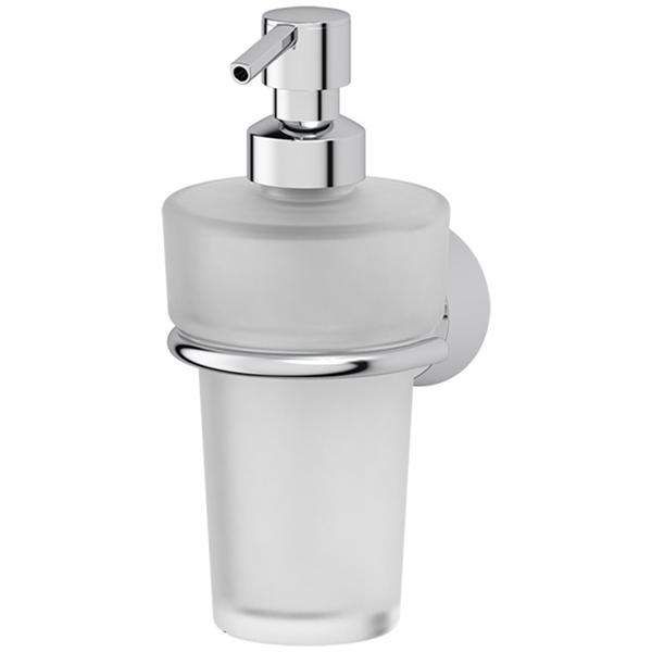 Дозатор для жидкого мыла FBS Vizovice 009 Хром дозатор жидкого мыла fbs vizovice viz 011