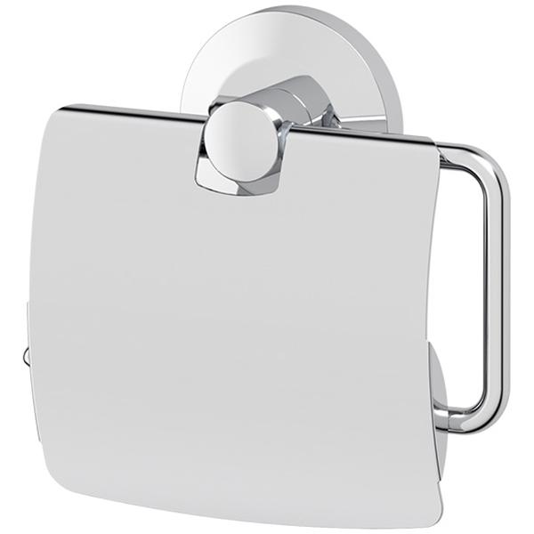Держатель туалетной бумаги FBS Standard 055 с крышкой Хром
