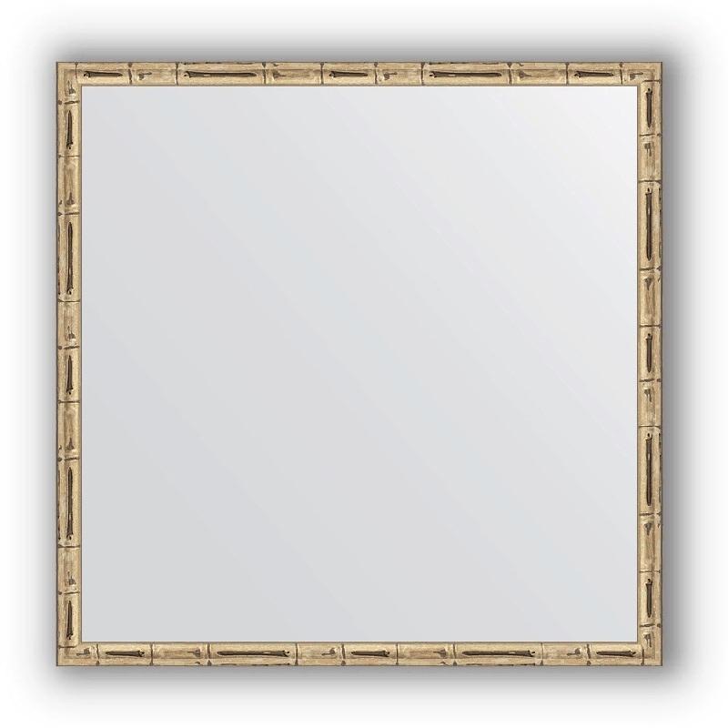 Зеркало Evoform Definite 57х57 Серебряный бамбук