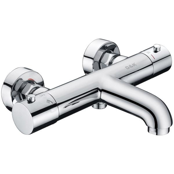 Смеситель для ванны D&K Bayern Potsdam DA2123201 с термостатом Хром