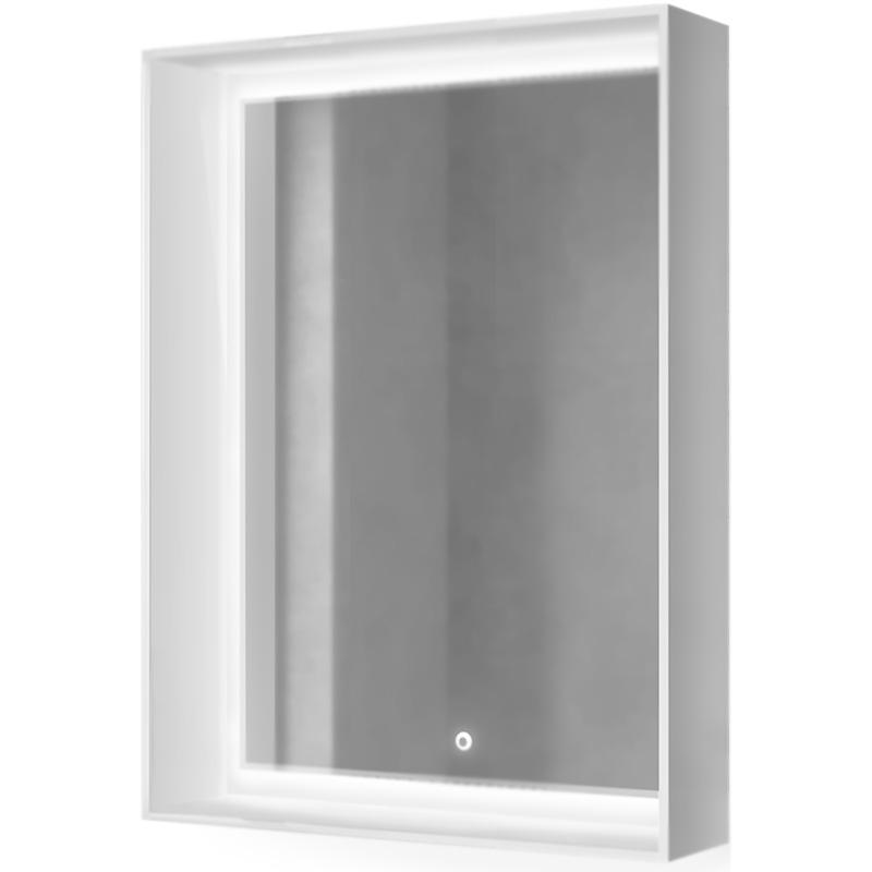 Фото - Зеркало Raval Frame 60 с подсветкой Дуб трюфель зеркало raval frame 75 см с подсветкой дуб трюфель