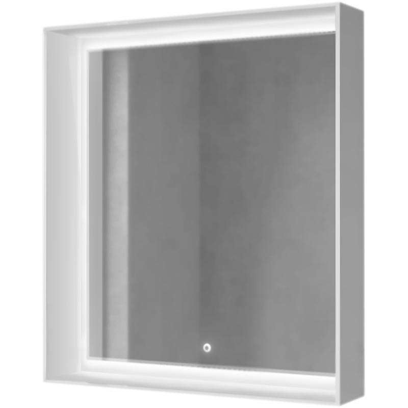 Фото - Зеркало Raval Frame 75 с подсветкой Дуб трюфель зеркало raval frame 75 см с подсветкой дуб трюфель