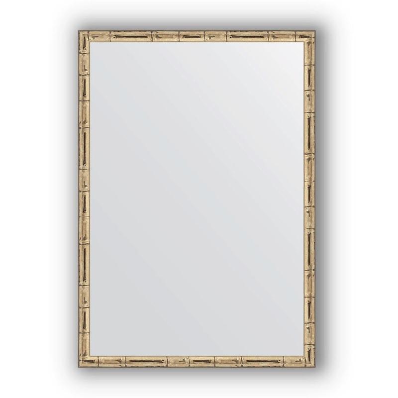 Зеркало Evoform Definite 67х47 Серебряный бамбук