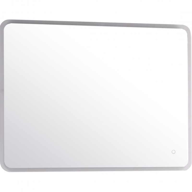 Зеркало ASB-Woodline Санди 100 10867 с подсветкой с сенсорным выключателем зеркало edelform мodest led 100 с подсветкой с сенсорным выключателем