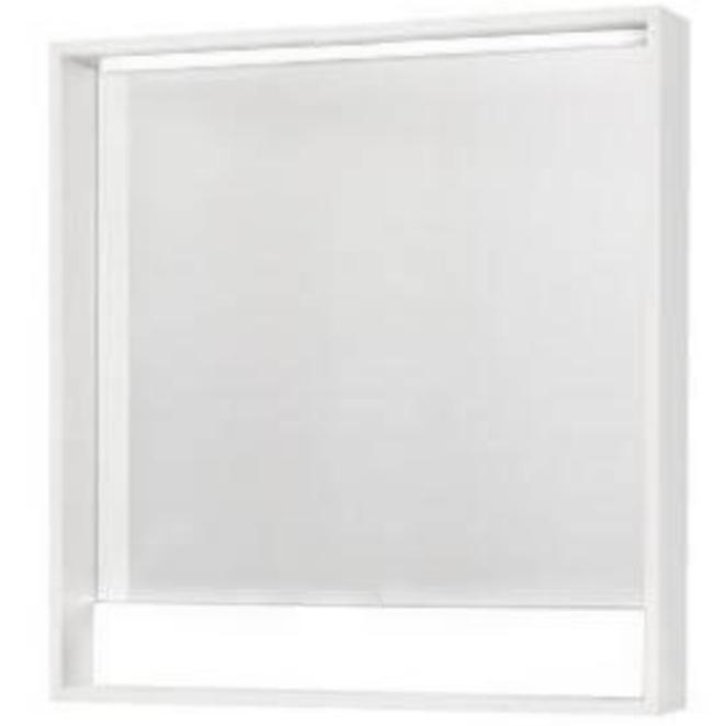 Зеркало Акватон Капри 80 с подсветкой 1A230402KP010 Белое