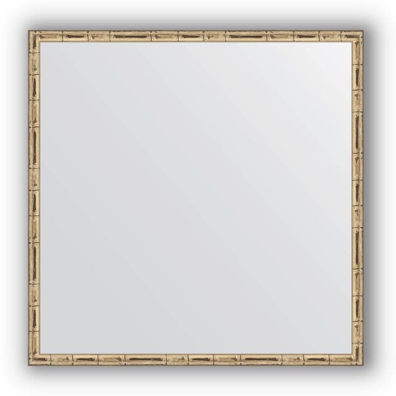Зеркало Evoform Definite 67х67 Серебряный бамбук