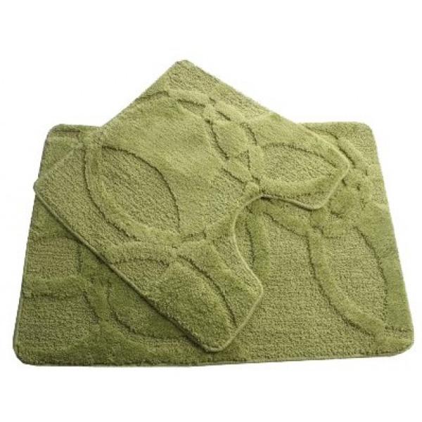 Комплект ковриков Fixsen FX-0128A-2 Green 60x90 Зеленые