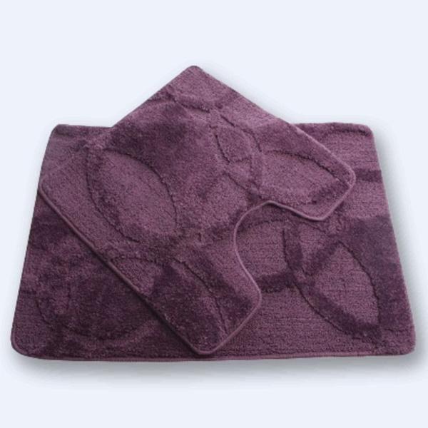 Комплект ковриков Fixsen FX-0128A-2 Purple 60x90 Фиолетовые