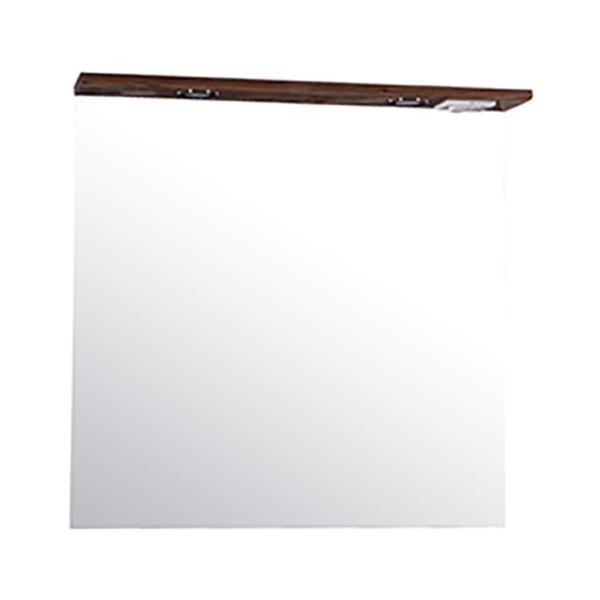 Зеркало АСБ-мебель Коста 80 11489 с подсветкой Светлый орех