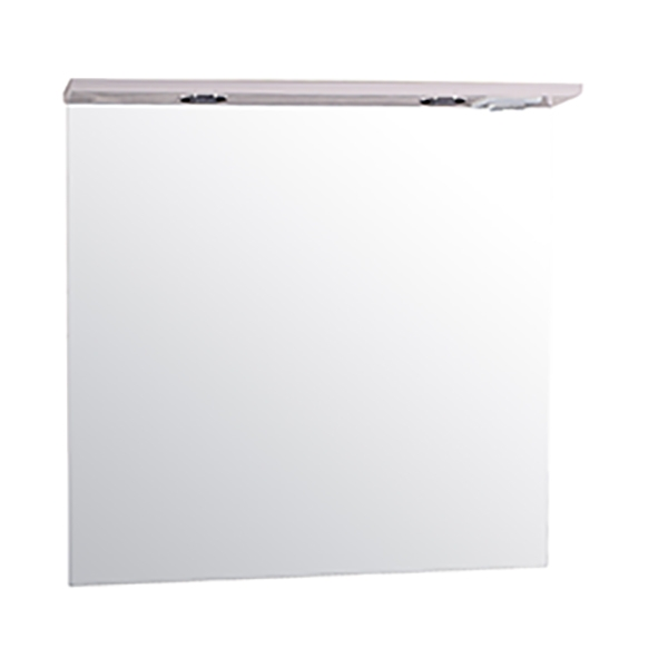 Зеркало АСБ-мебель Коста 80 11490 с подсветкой Белый ясень