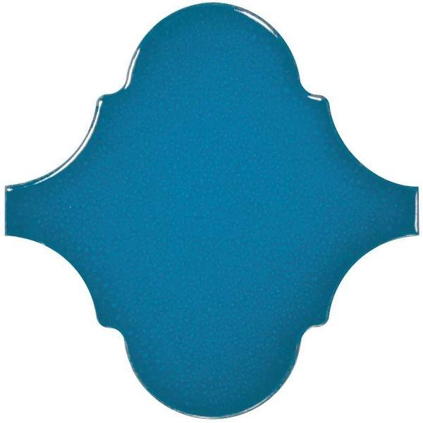 Керамическая плитка Equipe Scale Alhambra Electric Blue 23845 настенная 12х12 см