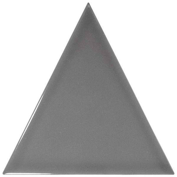 Керамическая плитка Equipe Scale Triangolo Dark Grey 23817 10,8х12,4 см