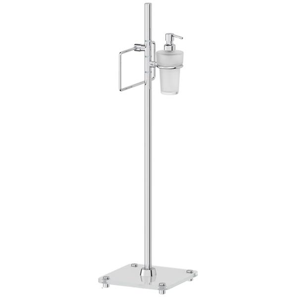 Напольная стойка FBS Universal 308 Хром стойка д туалета fbs universal многофункциональная хром