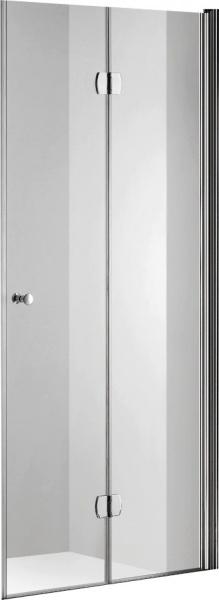 Душевая дверь Gemy S37193C 90x190 профиль Хром стекло Прозрачное душевая дверь в нишу radomir 150 1 63 2 0 0 1110 профиль хром стекло прозрачное