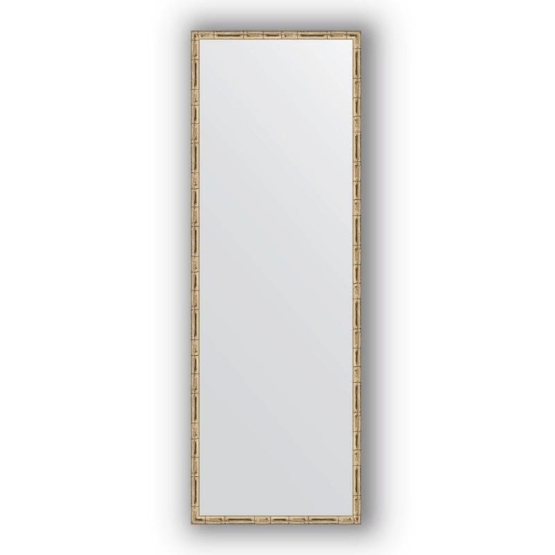 Зеркало Evoform Definite 137х47 Серебряный бамбук