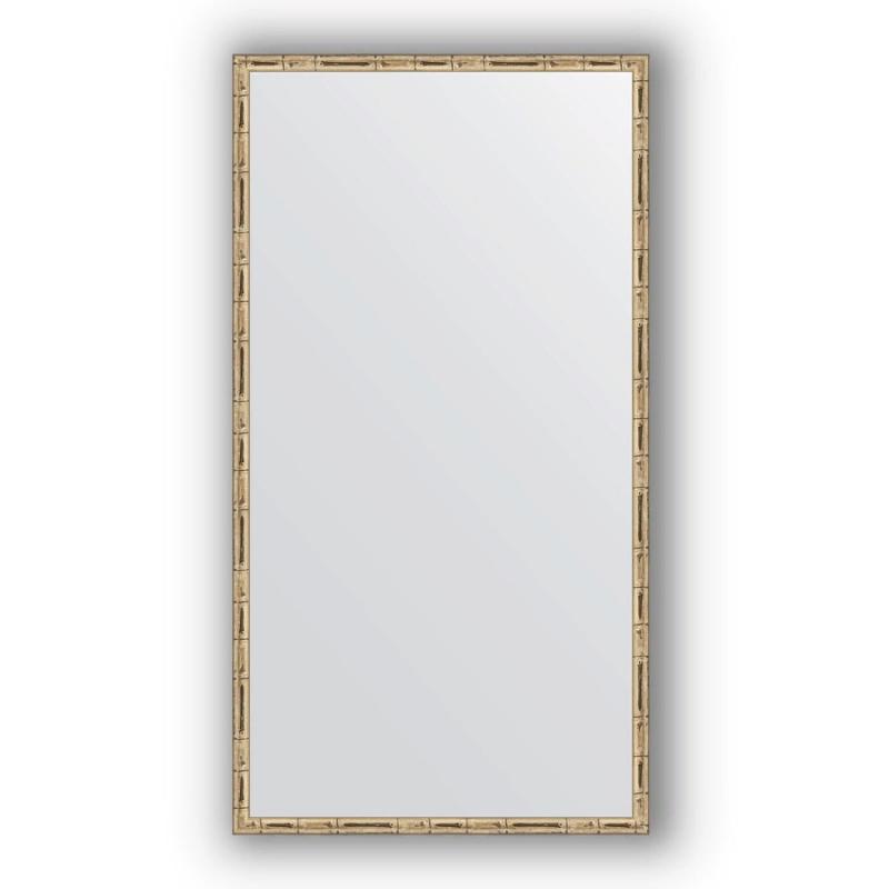 Зеркало Evoform Definite 127х67 Серебряный бамбук