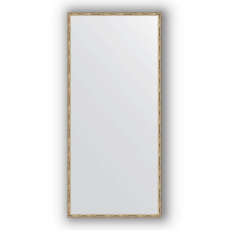 Зеркало Evoform Definite 147х67 Серебряный бамбук