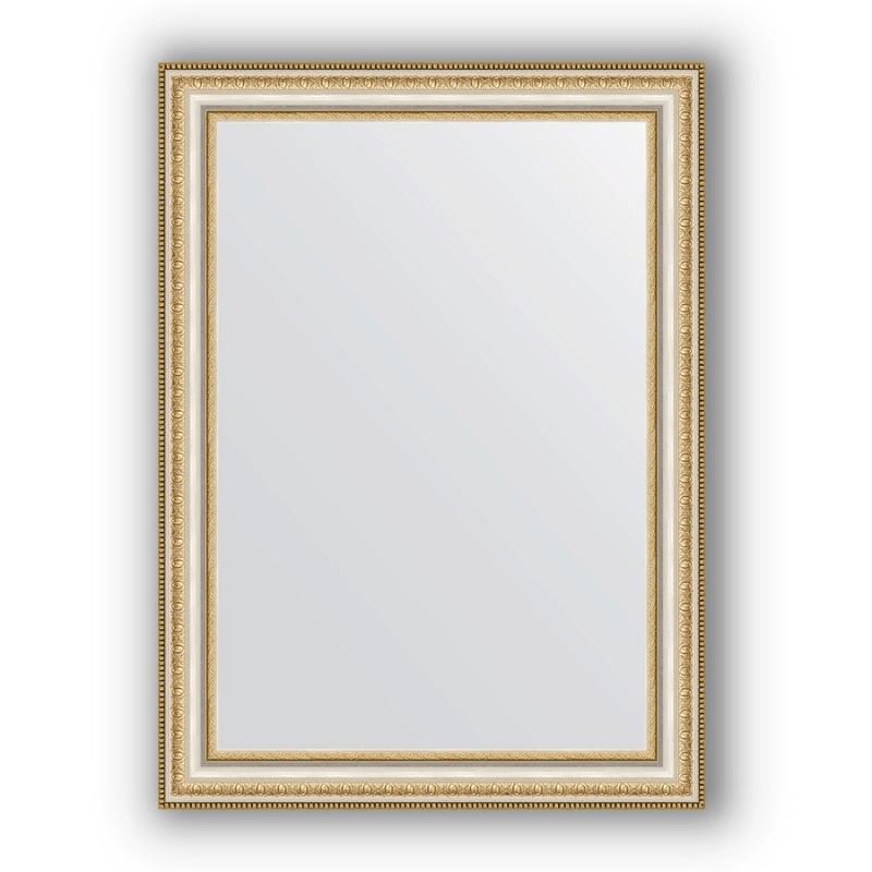 Зеркало Evoform Definite 75х55 Золотые бусы на серебре