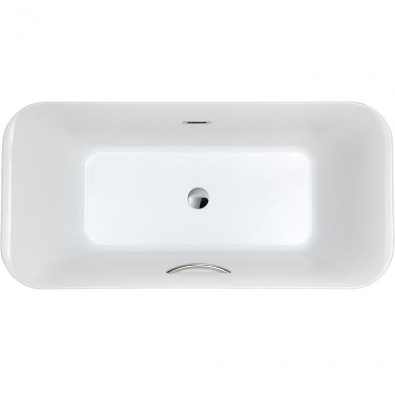 Акриловая ванна SSWW M706W 175х85 без гидромассажа ванна ssww pa4104 акрил угловая