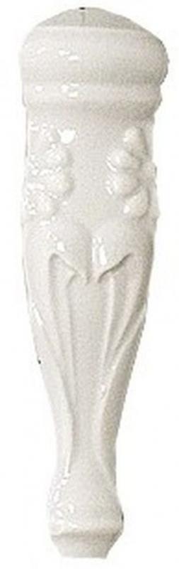 Угловой элемент Vallelunga Rialto White Ang. Est. List. Floreale G91224 3х12 см стоимость