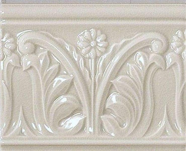 Керамический бордюр Vallelunga Rialto White Listello Flor G91023 12х15 см бордюр vallelunga villa d este 20733 avorio listello tibur