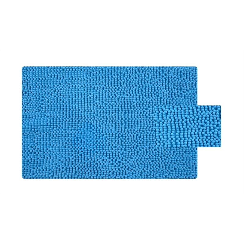 Фото - Коврик для ванной комнаты Iddis Blue Heaven 620M580i12 Синий коврик для ванной комнаты 50 80 см микрофибра шенилл blue heaven iddis 620m580i12