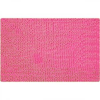 цена Коврик для ванной комнаты Iddis Pink Leaf 630M580i12 Розовый онлайн в 2017 году