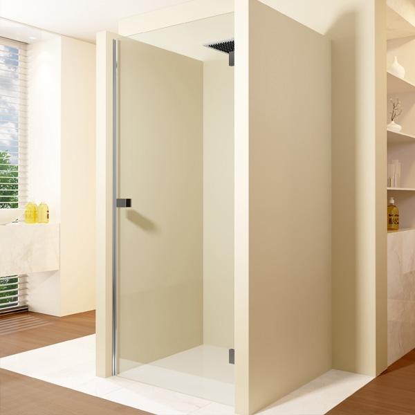 Душевая дверь Riho Scandic Mistral 80 профиль Хром стекло прозрачное L алюминиевый профиль lumker l 9086 b