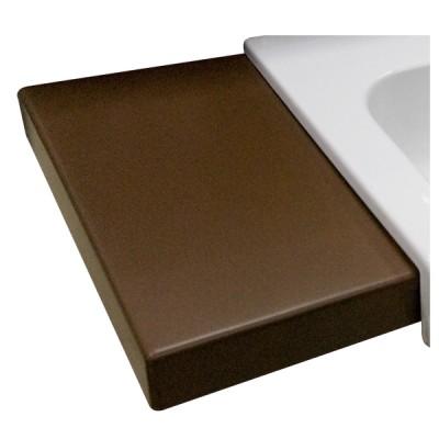 Inka Project 3418 черная глянцеваяРаковины<br>Столешница из керамики Inka Project 341804. Цвет черный глянцевый.<br>