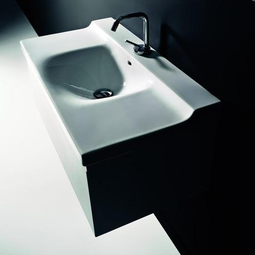 Buddy 9108 800 ммМебель для ванной<br>Тумба под раковину Kerasan Buddy 9108  лакированная. Цвет белый глянцевый.<br>
