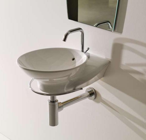 SWAN 3420 ХромАксессуары для ванной<br>Полотенцедержатель Kerasan SWAN 3420. Цвет хром.<br>