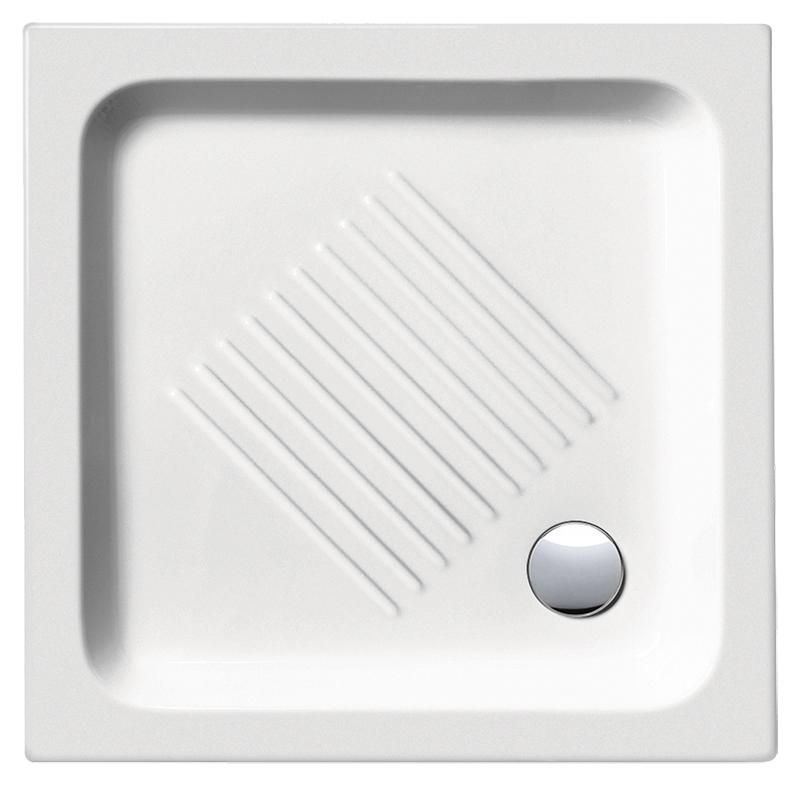 H11 70/Q 437011 белый глянцевыйДушевые поддоны<br>Душевой поддон GSI H11 70/Q 437011 с антискользящим рельефом в керамике.<br>