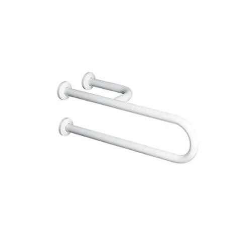 Disabili 9028 800 ммАксессуары для ванной<br>Опорный поручень фиксированный  Kerasan Disabili 9028. Цвет белый.<br>