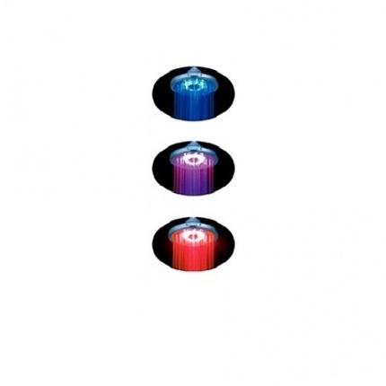 SL09 (161847) ХромВерхние души<br>Gllon SL09 Верхний душ (161847). В комплекте: верхняя лейка со светодиодной подсветкой.<br>