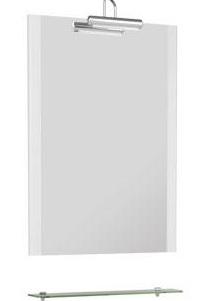 Асти 177788 650 ммМебель для ванной<br>Зеркало Aquanet Асти 65 177788 . Цвет белый.<br>