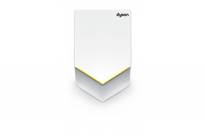 AB 12 V White БелаяАксессуары для общественных санузлов<br>Сушилка для рук Dyson Airblade V AB12, белая (white), электрическая автоматическая для ванной комнаты, квартиры, дома, общественных туалетов и других помещений. Цвет белый.<br>