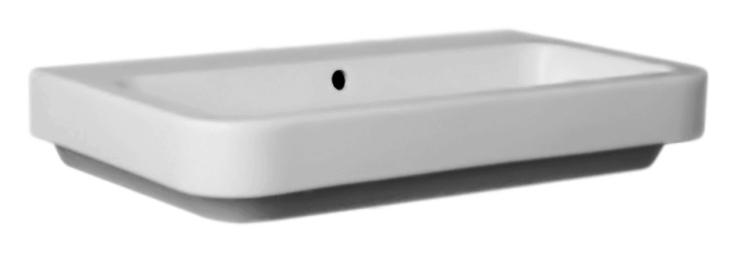 Tulip TUL260T bianco lucidoРаковины<br>Раковина Azzurra Tulip TUL260T с белоснежной глянцевой керамикой кажется простой на вид, но скрывает оригинальный и функциональный дизайн. Три отверстия для смесителя выбиты. Цена указана за чашу раковины. Все остальное приобретается дополнительно.<br>