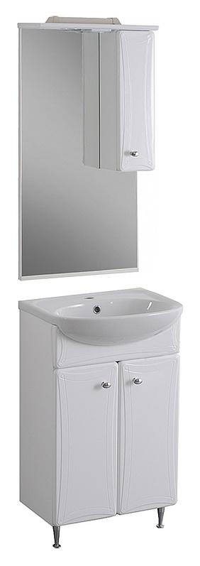 Котка 50 БелаяМебель для ванной<br>Тумба под раковину Aqualife Design Котка 50 без ящиков.  Стоимость указана только за тумбу. Дополнительно вы можете приобрести раковину, шкаф-пенал и зеркало.<br>