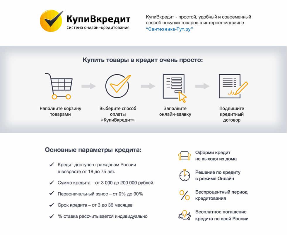 Кредит в интернет магазине москва кредит 2000000 наличными без справок и поручителей